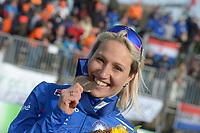 SPEED SKATING: COLLALBO: Arena Ritten, 12-01-2019, ISU European Speed Skating Championships, Francesca Lollobrigida (ITA), ©photo Martin de Jong