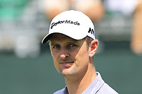 Justin Rose (ENG) walks off the 1st tee during Friday's Round 2 of the 2017 PGA Championship held at Quail Hollow Golf Club, Charlotte, North Carolina, USA. 11th August 2017.<br /> Picture: Eoin Clarke | Golffile<br /> <br /> <br /> All photos usage must carry mandatory copyright credit (&copy; Golffile | Eoin Clarke)
