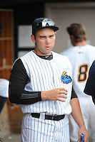 Trenton Thunder  infielder Dante Bichette Jr. (26) during game against the Altoona Curve at ARM & HAMMER Park on August 6, 2014 in Trenton, NJ.  Trenton defeated Altoona 7-3.  (Tomasso DeRosa/Four Seam Images)