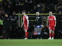 Fleetwood Town's Manager Joey Barton makes a double substitution<br /> <br /> Photographer Mick Walker/CameraSport<br /> <br /> The EFL Sky Bet League One - Burton Albion v Fleetwood Town - Saturday 11th January 2020 - Pirelli Stadium - Burton upon Trent<br /> <br /> World Copyright © 2020 CameraSport. All rights reserved. 43 Linden Ave. Countesthorpe. Leicester. England. LE8 5PG - Tel: +44 (0) 116 277 4147 - admin@camerasport.com - www.camerasport.com