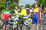 CYCLE: Ger Power, David Rath, Brian Hayles and Pat O'Sullivan who took part in the RNLI Life Boat Charity Cycle run from O'Donnell's Bar & Restaurant, Tralee on Saturday morning..................................... ....