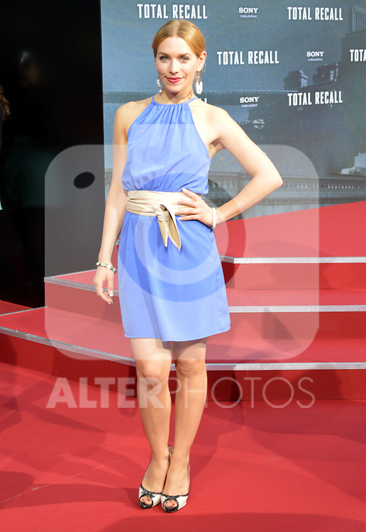 "Berlin, August 13, 2012:  Julia Dietze attends the ""Total Recall"" Premiere /NortePhoto.com....**CREDITO*OBLIGATORIO** *No*Venta*A*Terceros*..*No*Sale*So*third* ***No*Se*Permite*Hacer Archivo***No*Sale*So*third*"