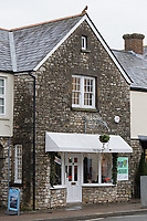 The Pop Up shop on the High Street, Cowbridge, Wales, UK. Friday 08 February 2019