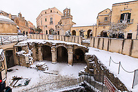Europe,Italy,Basilicata, Matera, capital of Culture, World Heritage Site,Palombaro lungo