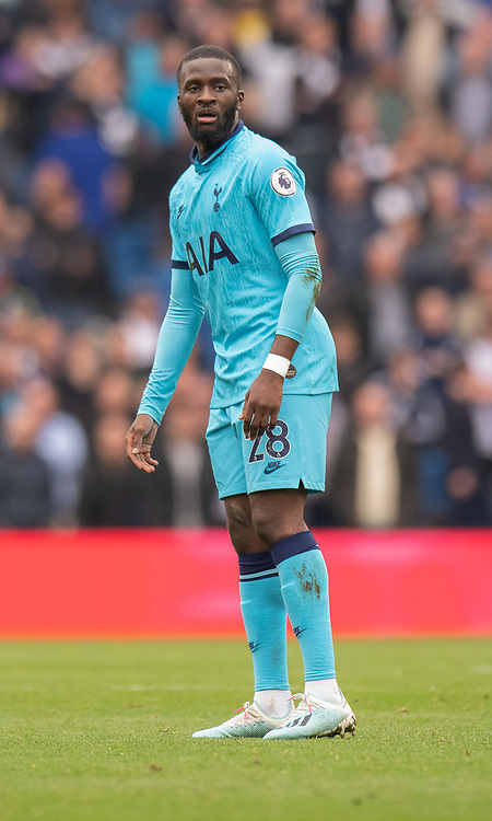 Tottenham Hotspur's Tanguy Ndombele <br /> <br /> Photographer David Horton/CameraSport<br /> <br /> The Premier League - Brighton and Hove Albion v Tottenham Hotspur - Saturday 5th October 2019 - The Amex Stadium - Brighton<br /> <br /> World Copyright © 2019 CameraSport. All rights reserved. 43 Linden Ave. Countesthorpe. Leicester. England. LE8 5PG - Tel: +44 (0) 116 277 4147 - admin@camerasport.com - www.camerasport.com