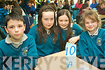 Students from Holy Family NS Rathmore who took part in the Credit Union Chapter 23 Quiz held in the ITT North Campus on Sunday afternoon were l/r Jason Murphy, Jacqueline Murphy, Jennifer O'Sullivan and Sarah Murphy............................................................................................................................................. ............
