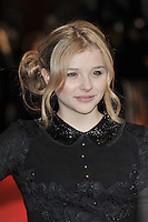 Chloe Moretz..'Hugo in 3D' Royal Premiere, Odeon Cinema, Leicester Square, London, England. 28 November 2011. Contact: rich@piqtured.com  +(0)7941 079620 (Picture by Awais Butt)