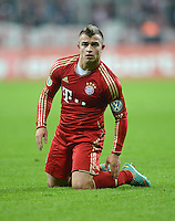 FUSSBALL  DFB POKAL       SAISON 2012/2013 FC Bayern Muenchen - 1 FC Kaiserslautern  31.10.2012 Xherdan Shaqiri (FC Bayern Muenchen)