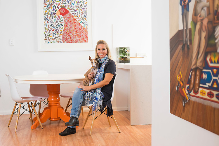 Home + Life Mag My Place with Eliza Piro at her home in Mile End. Photo: Nick Clayton
