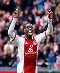 Nederland, AMsterdam, 1 April 2012.Eredivisie.Seizoen 2011-2012.Ajax-Heracles 6-0.Vurnon Anita van Ajax juicht na het scoren van de 5-0