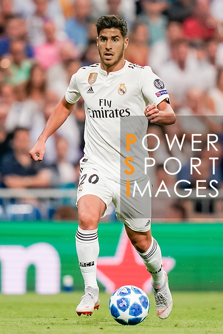 Marco Asensio Willemsen of Real Madrid in action during the UEFA Champions League 2018-19 match between Real Madrid and Roma at Estadio Santiago Bernabeu on September 19 2018 in Madrid, Spain. Photo by Diego Souto / Power Sport Images