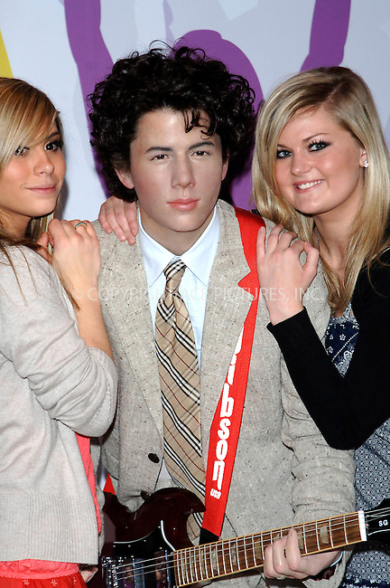 WWW.ACEPIXS.COM . . . . .  ..... . . . . US SALES ONLY . . . . .....May 20 2009, London....Jonas Brothers waxwork figures were unveiled at Madame Tussauds in London on May 20 2009 in England....Please byline: FAMOUS-ACE PICTURES... . . . .  ....Ace Pictures, Inc:  ..tel: (212) 243 8787 or (646) 769 0430..e-mail: info@acepixs.com..web: http://www.acepixs.com
