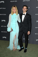 LOS ANGELES, CA - OCTOBER 29: Brie Larson, Alex Greenwald attends the 2016 LACMA Art + Film Gala honoring Robert Irwin and Kathryn Bigelow presented by Gucci at LACMA on October 29, 2016 in Los Angeles, California. (Credit: Parisa Afsahi/MediaPunch).