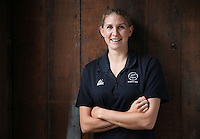 10.06.2014 Silver Fern Casey Williams at the New Zealand Silver Ferns netball team annoucement in Auckland for the 2014 Glasgow Commonwealth Games to be held next month. Mandatory Photo Credit ©Michael Bradley.