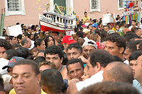 C&iacute;rio de Nazar&eacute; 2005 <br /> <br /> Roman Catholic pilgrims press together while following the image of the local saint Our Lady of Nazareth as it is paraded during the annual Cirio de Nazare procession, the country&rsquo;s biggest religious festival, in the city of Belem, at the mouth of the Amazon River . More than one million Catholics, many of them from communities along the Amazon River&rsquo;s tributaries, converged on Our Lady of Nazareth basilica to participate in the event. <br /> <br /> Foto Lucivaldo Sena