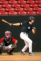 September 15, 2009:  Keenan Kish, one of many top prospects in action, taking part in the 18U National Team Trials at NC State's Doak Field in Raleigh, NC.  Photo By David Stoner / Four Seam Images