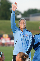 Piscataway, NJ - Saturday Aug. 27, 2016: Caroline Stanley prior to a regular season National Women's Soccer League (NWSL) match between Sky Blue FC and the Chicago Red Stars at Yurcak Field.