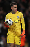 Ederson of Manchester City dejected during the Champions League Quarter Final 1st Leg, match at Anfield Stadium, Liverpool. Picture date: 4th April 2018. Picture credit should read: Simon Bellis/Sportimage