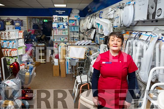 Deirdre Fee of Medical Mobility in the Horan Centre, Tralee.