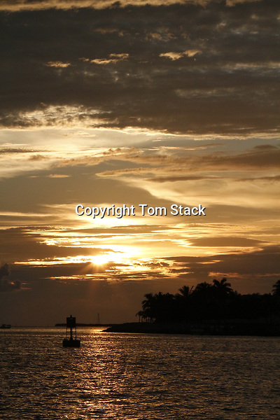 Sunset off Mallory Square, Key West, Florida