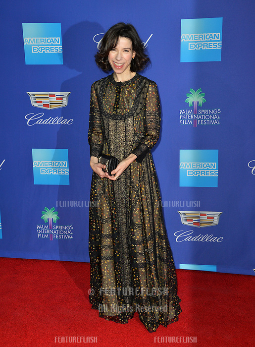 Sally Hawkins at the 2018 Palm Springs Film Festival Awards at Palm Springs Convention Center, USA 02 Jan. 2018<br /> Picture: Paul Smith/Featureflash/SilverHub 0208 004 5359 sales@silverhubmedia.com