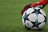 Adidas Champions league ball and glove .<br /> Pallone Guanto <br /> Napoli 16-08-2017 Stadio San Paolo <br /> Napoli - Nice Uefa Champions League 2017/2018 Play Off Foto Andrea Staccioli Insidefoto