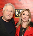 """Alan Menken and Anna Menken attend The Opening Night of the New Broadway Production of  """"Miss Saigon""""  at the Broadway Theatre on March 23, 2017 in New York City"""