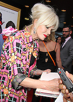 NEW YORK, NY-July 18:  Joanna Lumley at Fox Searchlight Pictures presents premiere of Absolutely Fabulous: The Movie  to talk about  Star Trek Beyond in New York. NY July 18, 2016. Credit:RW/MediaPunch