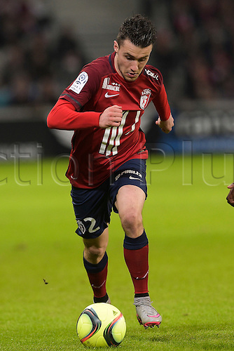21.02.2016. Lille, France. French League 1 football. Lille versus Lyon.  CORCHIA Sebastien (Losc)