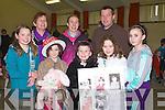 FAIRDAY: Shopping away at the Christmas Fair Day at Gaelscoil Mhic Easmainn Primary School, on Sunday . Front l-r: Ursula Ni? Mhorchair, Neasa Ni? Mhuircheataigh Leah Ni? Sheanaca?in,  Ai?ne Ni? Shuilleabhain agus Tiffany Ni? Bhriain.Back l-r: Bri?d De Rath, Geraldine O'Shea and Colm O? H-Ainifiei?n.. . ............................... ..........