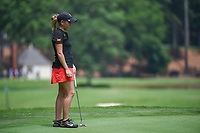 Ceilia Barquin Arozamena (a)(ESP) looks over her putt on 17 during round 1 of the U.S. Women's Open Championship, Shoal Creek Country Club, at Birmingham, Alabama, USA. 5/31/2018.<br /> Picture: Golffile | Ken Murray<br /> <br /> All photo usage must carry mandatory copyright credit (&copy; Golffile | Ken Murray)
