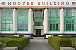 The Hoover Building (now a Tesco supermarket) at Perivale, London UK