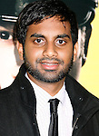 "HOLLYWOOD, CA. - April 06: Aziz Ansari arrives at the Los Angeles premiere of ""Observe and Report"" at Grauman's Chinese Theater on April 6, 2009 in Hollywood, California.."
