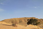 Israel, Negev desert, the Small Fin at the Large Crater