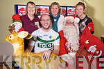 Tadgh Kennelly dropped in to Listowel Community centre to see Santa Michael Broderick also in photo are Phil O'Connell, Patricia O'Carroll and Catherine Butler. Santa and Mrs Clause will be at Listowel Community centre from the 13th of December.