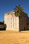 Fortified tower in the Alcazar, Jerez de la Frontera, Spain