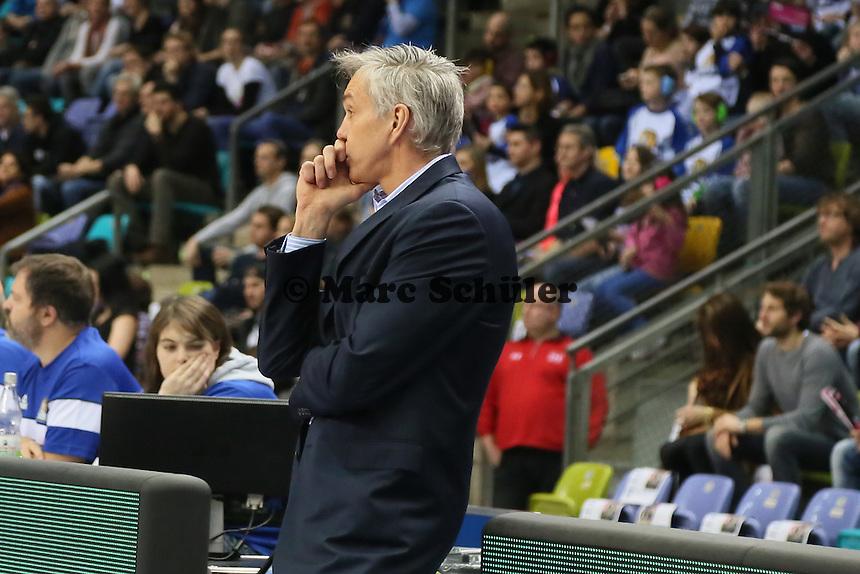 Trainer Goron Herbert (Skyliners) - Fraport Skyliners vs. Brose Baskets Bamberg, Fraport Arena Frankfurt
