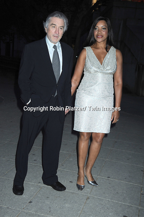 Bobby De Niro and wife Grace Hightower attending at The Vanity Fair Tribeca Film Festival Party on .April 27, 2011 at The State Supreme Courthouse in New York City.