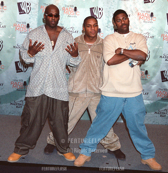 28OCT99:  Hip Hop group NAUGHTY BY NATURE at The WB Radio Music Awards at the Mandalay Bay Resort & Casino, Las Vegas..© Paul Smith / Featureflash
