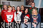 Boyle Sports Christmas party at Denny Lane on Saturday.  Front l-r Gillian Keegan, Lorraine O'Donnell, Laura Couchman, Marie O'Mahony.  Back l-r Mike Slattery, Martina Slattery, Carmel Breen, Damien O'Shea