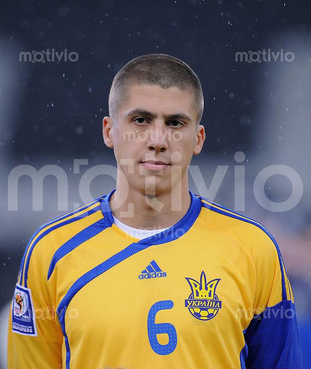 Fussball International   WM  2010  Play Off    18.11.2009 Ukraine - Griechenland Andriy YARMOLENKO (UKR)