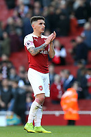 Lucas Torreira of Arsenal after Arsenal vs Southampton, Premier League Football at the Emirates Stadium on 24th February 2019