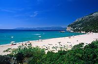 Italy, Sardinia, Cala Cartoe at Golfo di Orosei near Cala Gonone