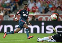 Fussball  International   Audi Cup 2013  Saison 2013/2014   31.07.2013 FC Bayern Muenchen - Sao Paulo FC  David Alaba (FC Bayern Muenchen) am Ball