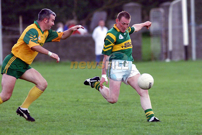 Action from Cooley V Stabannon in Dowdallshill..Picture Paul Mohan Newsfile
