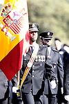 Delivery ceremony of the Spanish flag to Spanish Police on November 10, 2015 in Avila, Spain.(ALTERPHOTOS/Acero)