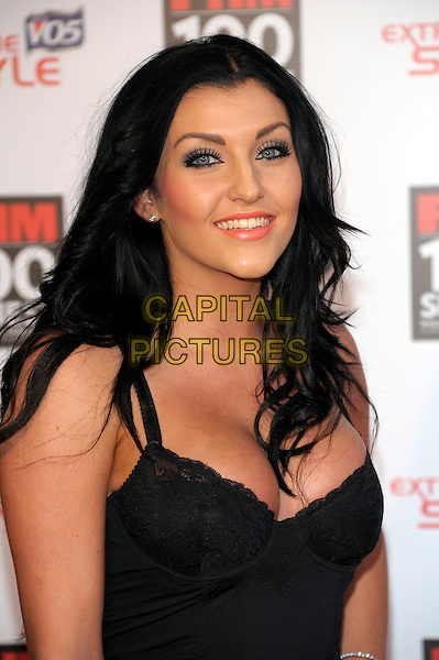 GUEST.The FHM 100 Sexiest Women for 2011 party, One Marylebone Rd., London, England..May 4th, 2011.half length black dress cleavage make-up .CAP/PL.©Phil Loftus/Capital Pictures.