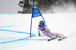 December 1, 2017:  Austria's, Matthias Mayer #1, charges down a very fast slope in the Super G competition during the FIS Audi Birds of Prey World Cup, Beaver Creek, Colorado.