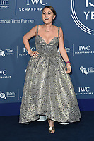 Jaime Winstone<br /> arriving for the 2018 IWC Schaffhausen Gala Dinner in Honour of the BFI at the Electric Light Station, London<br /> <br /> ©Ash Knotek  D3437  09/10/2018