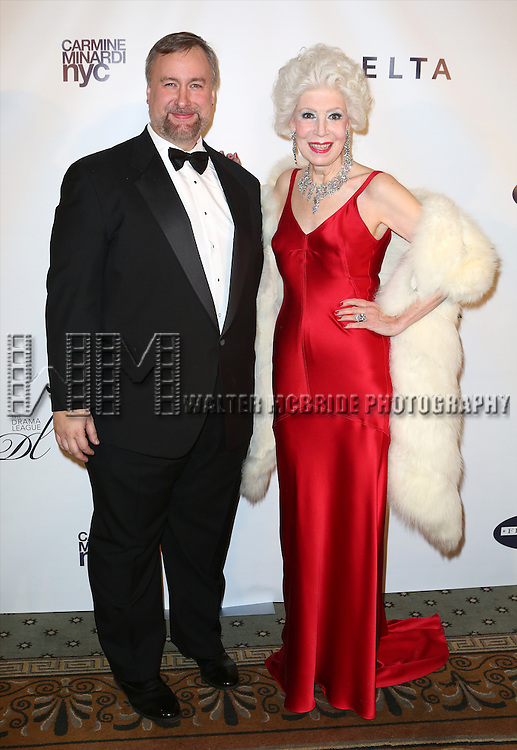 Gabriel Shanks and Jano Herbosch attend the Drama League's 30th Annual 'Musical Celebration of Broadway' honoring Neil Patrick Harris at the Pierre Hotel on February 3, 2014 in New York City.
